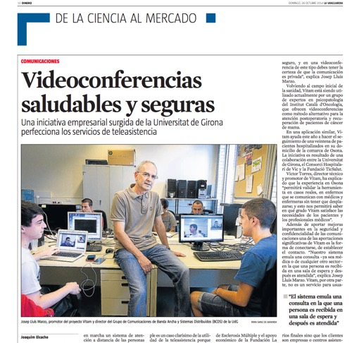 La Vanguardia vitam